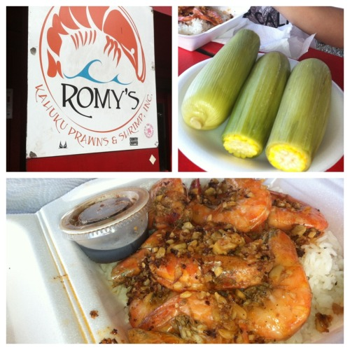 Kahuku shrimp & corn, always worth the almost 2 hr drive. :)
