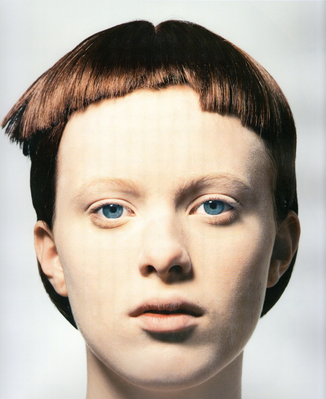 zoku:  Karenphoto David Sims Heads: Hair By Guido