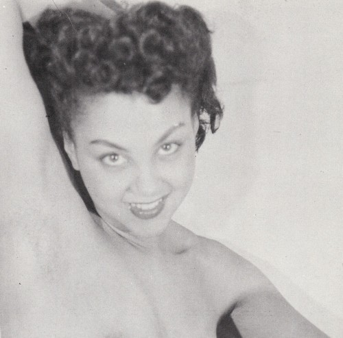STORY OF THE MOST BEAUTIFUL AFRICAN-AMERICAN MODEL OF THE 1950s?  See it HERE on Dull Tool Dim Bulb the Art Blog