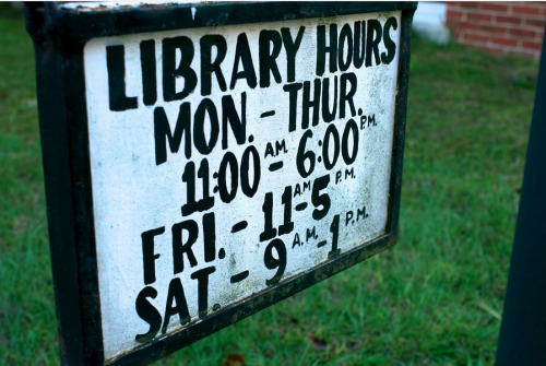 teachingliteracy:  Public Library by Wolcott