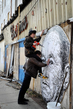 Process Shots by Martha Cooper by gaia.streetart on Flickr.