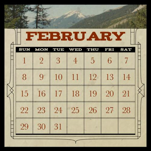 A calendar! No, it's not for this year. It's a board for a game I'm making called Procrastination! I'll get around to posting more about it later.