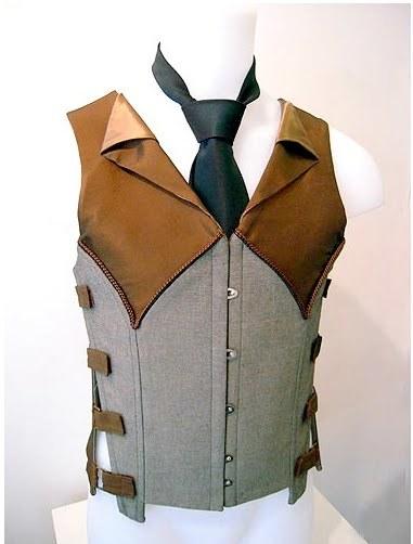 konayashi:Fantastic hybrids of menswear and corsetry bySylvain Nuffer.