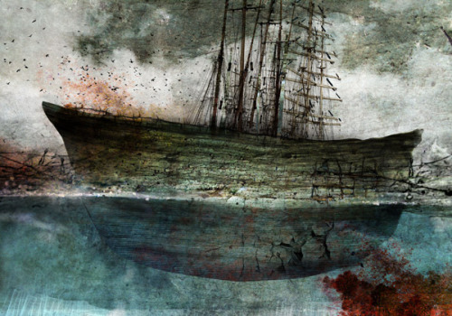 'Sailing the Sea of Lost Time' Series by Maciej Zielinski