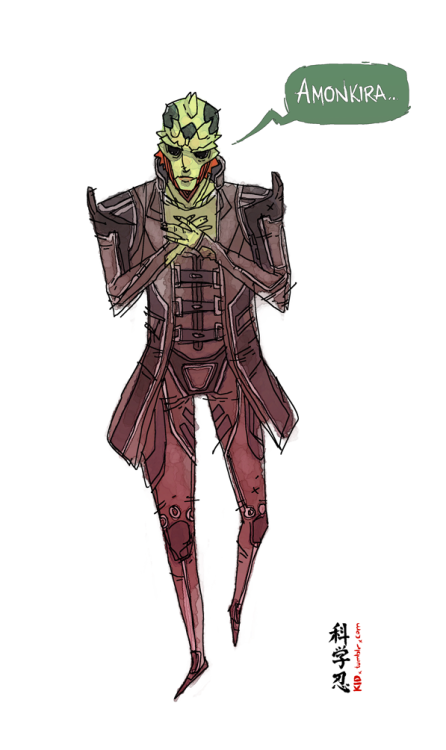 scienceninjakid:  Thane Krios: The Assassin