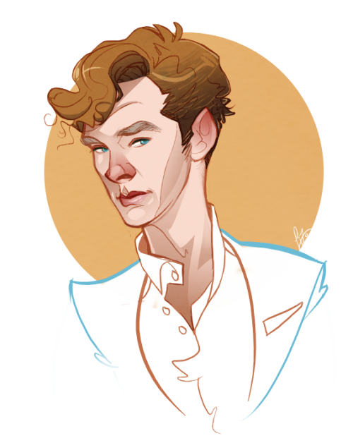 perlockholmes:  nickallyourbiscuits:  I'll stop drawing him when he stops being so damn lovable.  so…. never?