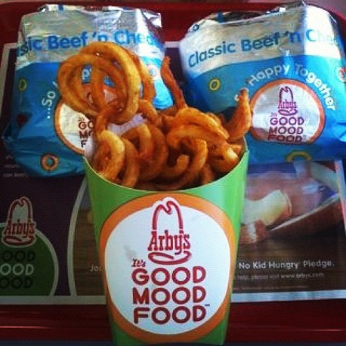 #arbys #samdwich #fastfood #food #curlyfries (Taken with instagram)