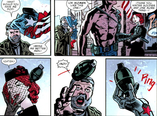 [Captain America & Bucky #624] Just in case you forgot about them being the best.