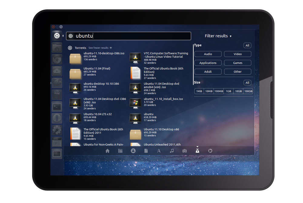 Ubuntu Tablet to Compete with Android, iOS  An Ubuntu tablet will 'battle' against Android and iOS Canonical's CEO Jane Silber has said. And although Ubuntu isn't running on tablets yet she told Techworld's Paul Krill that 'announcements in that area' are to be made later this year.  (vía OMG! Ubuntu!)
