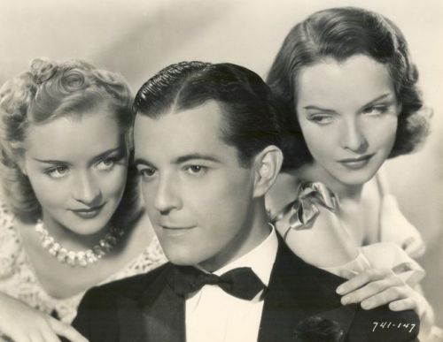 Marian Marsh with Ramon Novarro and Margaret Tallichet - Publicity Photo for A Desperate Adventure - (1938)