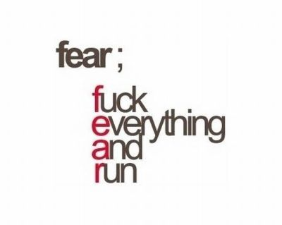 FEAR - F**K Everything And Run