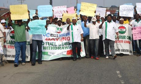 "The fuel subsidy crisis has woken Nigerians up These protests are not just about being unable to afford fuel. People have had enough of wasteful and corrupt leadership  I remember watching Goodluck Jonathan's speech at the start of his re-election campaign on 18 September, 2010. He promised change: ""Let the word go out from  this Eagle Square that Jonathan as president in 2011 will herald a new  era of transformation of our country."" The canoe-carver's son who became  deputy governor, governor, vice-president and then president, without  ever hustling for power, wowed us all with stories of his humble  beginnings (a shoeless childhood, studying by the light of kerosene  lanterns), his humility, and his seeming accessibility (via Facebook).  But that was then. Today he seems bent on recreating all the  obstacles he faced all those decades ago; eager to ensure that as many  Nigerians as possible study with lanterns and survive on a single meal a  day. How is he doing this? By hurting the most vulnerable using one of  the most ubiquitous items in the land: petrol. A fuel price increase – and the associated increase in the price of commodities – has sparked nationwide #OccupyNigeria protests, driven largely by young people mobilising themselves via social media, mobile phones and word-of-mouth. Nigeria  is a crude-oil producing and exporting country, full of poor people –  70% of the population survives on less than $2 a day. These citizens  consume more petrol than is necessary because Nigeria has consistently  failed to produce enough electricity for its 150 million citizens (South  Africa, with 50 million people, produces 10 times as much electricity  as Nigeria), leaving much of the population dependent on petrol-guzzling  Chinese generators to keep the lights on. It gets worse. …"