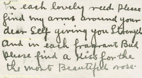 Excerpt from a love letter written to Marian Marsh by actor Edmund Lowe in the mid 1930's (Ordinarily I think these things are far too personal to share on the internet, but the words are so lovely and fitting for her, I had to make an exception).