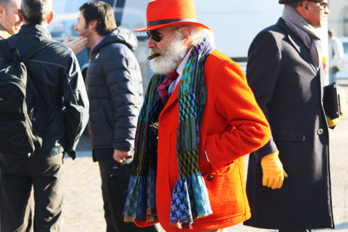 Staying true to himself… Pitti Uomo 2012