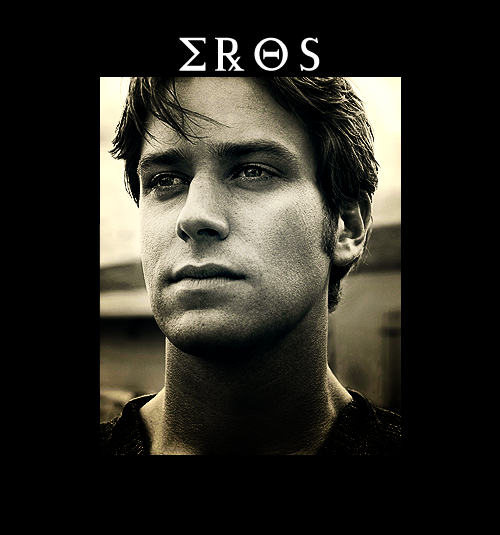 fuckin-tardah:  royharpering:  GREEK GODS FAN CAST                 armie hammer as eros, god of love and sexual intercourse  YUP sounds about right ;)