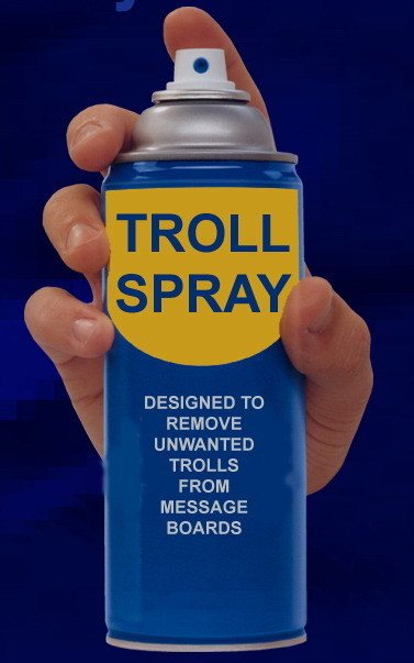 new troll spray ! follow me and get a free can !!!