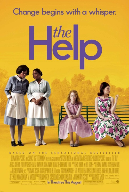 #290/#7 The Help In 1960's Jackson, Mississippi life was not good for the black community, in which being subservient to the white community as the help was their only way of living. Wanting to help get their voice out there for the rest of America to hear, recent literature graduate Skeeter Phelan (Emma Stone) begins writing a book on the testimonials of those maids. Primarily focusing on Aibileen Clark (Viola Davis), a maid who has raised dozens of white babies only to see them become just like their parents, and Minny Jackson (Octavia Spencer), a maid who's outspokenness often gets her into trouble, and their interactions with the highly bigoted Queen Bee of Jackson Hilly Holbrook (Bryce Dallas Howard) and the locally shunned, newly married Celia Foote (Jessica Chastain).  This film has some absolutely amazing performances in it. The four main actors of Stone, Davis, Spence and Howard all just knock it out of the park with their performances. Stone is kind of the every woman; acting as the conduit for the viewer but still managing to have her own personality and interesting storyline. Davis plays meek really well but also brings home the emotional powerhouse moments when she needs to. Spencer is a bit of a stereotype as the sassy black woman but she does it so well, with a really interesting character arc and on screen friendship with the Jessica Chastain character, that it doesn't feel overly stereotypical. Lastly, Howard is one of the bitchiest characters I've ever seen in a movie. You hate her so much in this and it's just done so perfectly. I said her role in 50/50 was the best I've ever seen her but I stand corrected. 2011 was a good year for her playing a bitch.  Add to these performances a good story with some heart, some laughs and some good drama, as well as being well shot and edited, and you've got an overall great picture. The only things I would say against it are that it doesn't deal with the racism from a black male's perspective at all and that there is a pointless sub plot with Skeeter's boyfriend which wasn't needed. Not big things just lost potential and unneeded padding on an already 2 hour long film. Other than that a really well crafted film 4.5/5