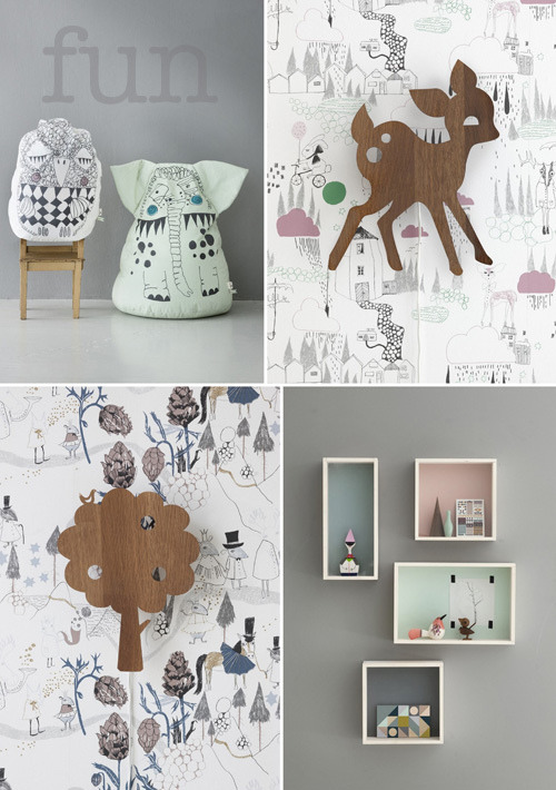 (vía decor8 » Blog Archive » NEW: Ferm Living Spring/Summer 2012)