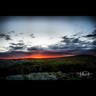 untitled on Flickr.Sunset in Hardangervidda National Park