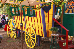 Gypsy Wagon - 2011 Texas Renaissance Festival  Photograph by Greg L. Jones on Flickr