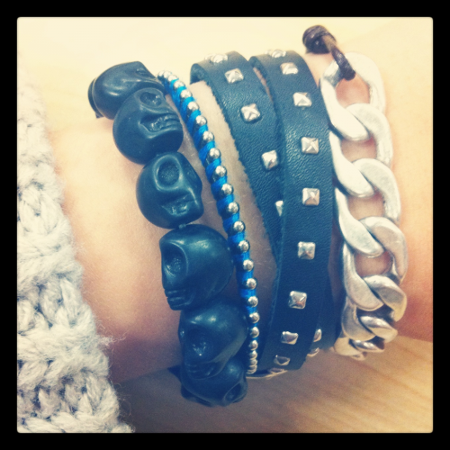 Thursday arm candy