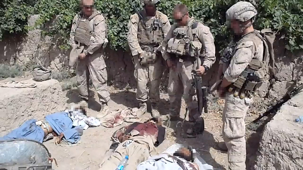 "Video of Marines urinating on dead insurgents won't harm peace talks: TalibanA video showing what appear to be American forces urinating on dead Taliban fighters prompted anger in Afghanistan and promises of a U.S. investigation on Thursday, but the insurgent group said it would not harm nascent efforts to broker peace talks.The video, posted on YouTube and other websites, shows four men in camouflage Marine combat uniforms urinating on three corpses. One of them jokes: ""Have a nice day, buddy."" Another makes a lewd joke.It is likely to stir up already strong anti-U.S. sentiment in Afghanistan after a decade of a war that has seen other cases of abuse, and that could complicate efforts to promote reconciliation as foreign troops gradually withdraw."