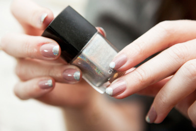 Givenchy Spring 2012-Inspired Nails (via moveSlightly: Givenchy Spring 2012-Inspired Nails)