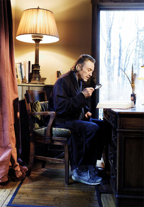 "Christopher Walken: What I've Learned | Esquire ""There's something dangerous about what's funny. Jarring and disconcerting. There is a connection between funny and scary."""