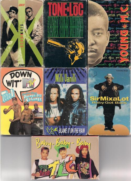 Cassette Singles (P. 2) Submitted by Andrew P.