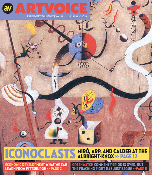 Cover Story: Art Scene: Three Iconoclasts, Miró, Calder, and Arp at the Albright-Knox Art Gallery.