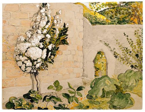 Pear Tree in a Walled Garden (1829), Samuel Palmer.