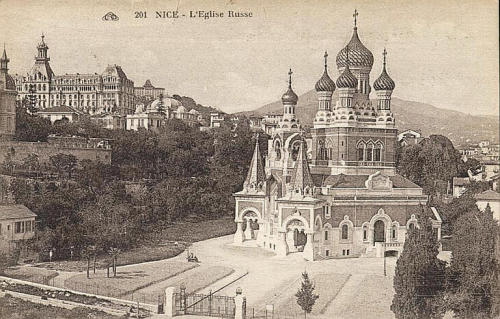 Église orthodoxe de Nice @credits  The St Nicholas Orthodox Cathedral, Nice (Cathédrale Orthodoxe Saint-Nicolas de Nice) is a Christian Orthodox cathedral, and a national monument of France, located in the city of Nice. Opened in 1912, thanks to the generosity of Russia's Tsar Nicholas II, it is the largest Orthodox cathedral in Western Europe.