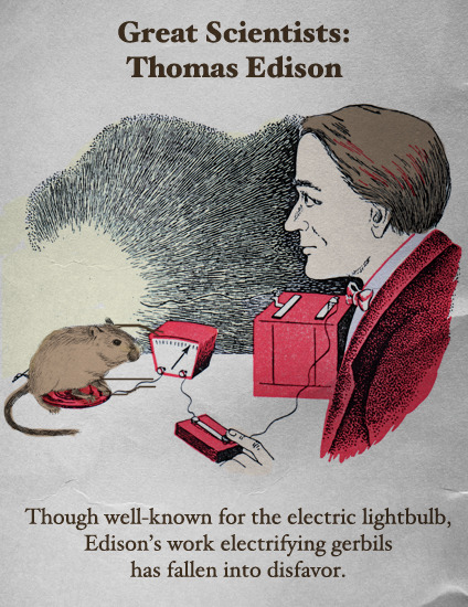 Great Scientists: Thomas Edison