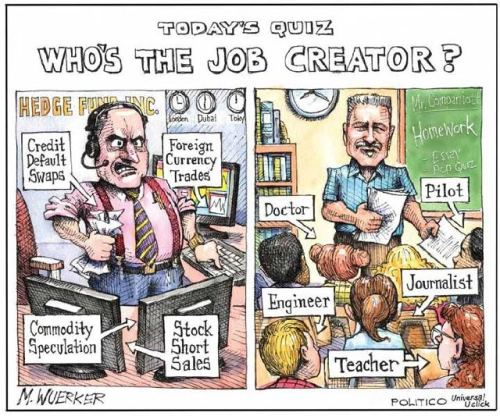 Who's more valuable? #teacher #ows #occupy