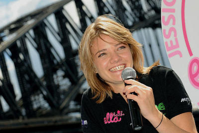 "Australian Jessica Watson in 2010, when, at the age of 16, she became the youngest woman to successfully sail solo around the world. She did it in 220 days. Dutch teen, Laura Dekker, will also be 16 by the time she completes her solo sailing trip around the world this January. She took a longer time, 508 days, as she rested up in ports along the way, and did self-study of her schoolwork. The Guinness Book of World Records has now removed all records having to do with ""Youngest this"" and ""Youngest that"" to discourage unsafe attempts by children seeking world records."