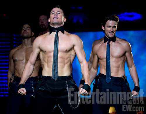 "Photo from Channing Tatum stripper film ""Magic Mike.""  I see it as my sacred duty to blog any photos from this movie."