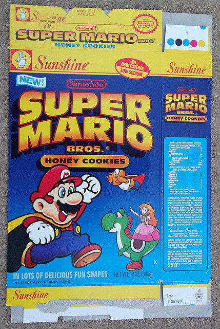 Super Mario Bros.Cookies Source: Flickr