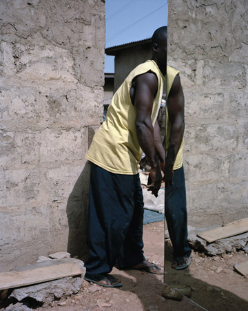 "Mirrorman © Viviane Sassen from the series ""Ultra Violet"""