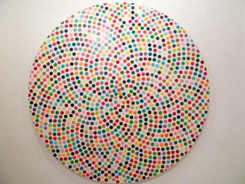 """Damien Hirst: The Complete Spot Paintings 1986–2001""  Gagosian Gallery, Paris Opening"