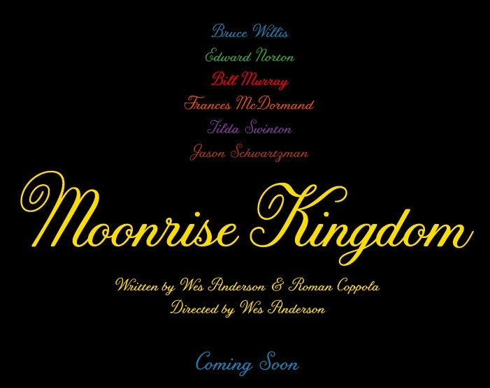It's finally here and it looks great! The first trailer for Wes Anderson's Moonrise Kingdom. Click through to Apple for HD  (Source:ThePlaylist)