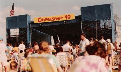 THROWBACK THURSDAY! Cornerstone 1990 (photo by pneumatictire)
