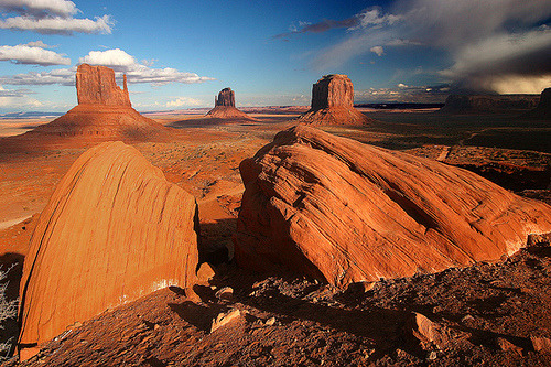 Monument Valley, Navajo County, Arizona© ©haddock(away)