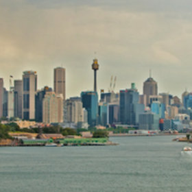 Sydney Panorama - Day by David Brown