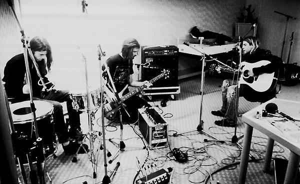 Nirvana in the studio.