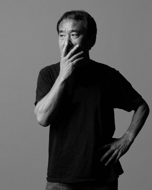 "i12bent:  Haruki Murakami, Japanese novelist known for his extensive use of   Western pop culture references which spin off into a crazy form of   postmodern pastiche, turns 63 today… A film based on his novel Norwegian Wood is in cinemas here right now… ""But who can say what's best? That's why you need to grab whatever chance  you have of happiness where you find it, and not worry about other  people too much. My experience tells me that we get no more than two or  three such chances in a life time, and if we let them go, we regret it  for the rest of our lives.""     ―       Haruki Murakami,            Norwegian Wood  Photo: Marco Garcia"