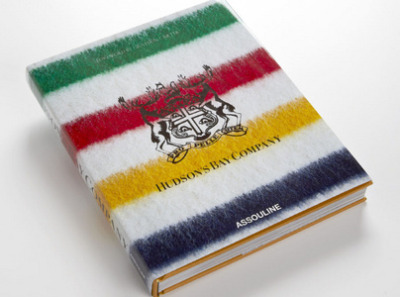 The Assouline Hudson's Bay Company book from HBC tells the story of how fur traders and settlers became today's fashion leaders.