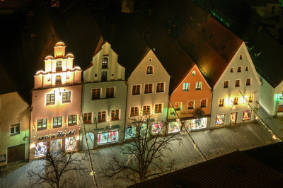 Night scene | Weiden, Bavaria, Germany© the-father