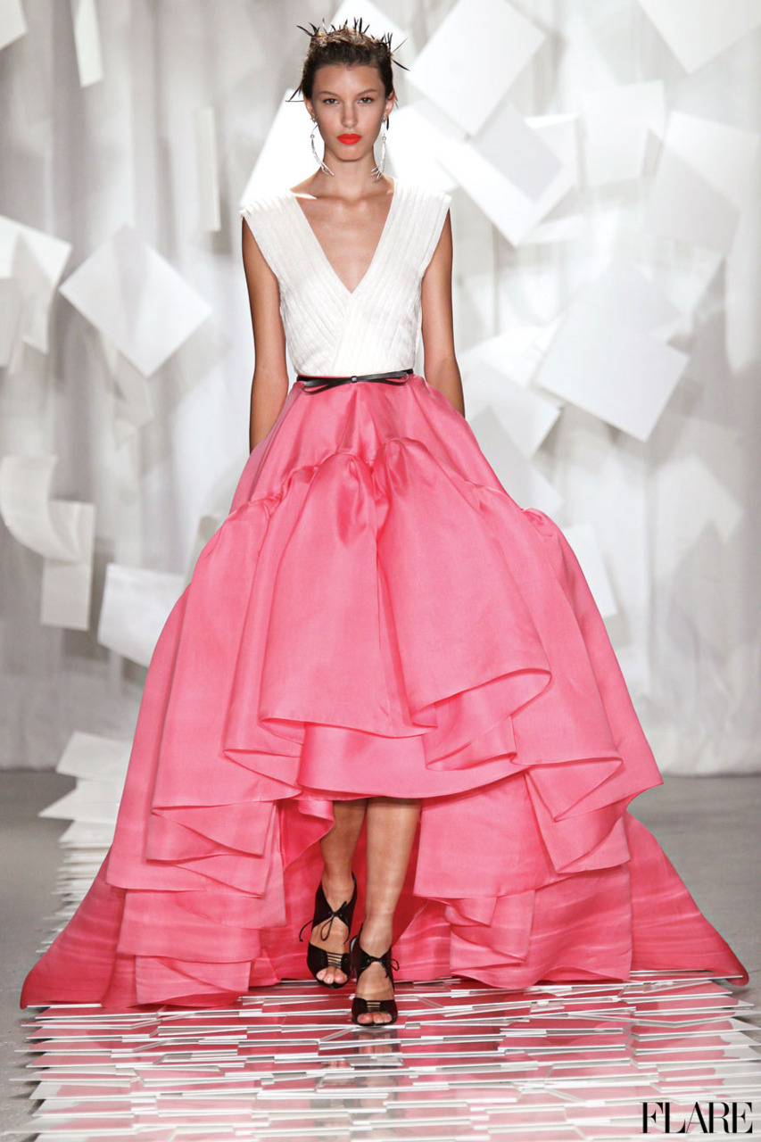 Jason Wu - Spring 2012 / Photographer: Anthea Simms FLARE's Spring 2012 Trends Guide: Fashion trends, style tips and the best of beauty. Over 150 picks inside!