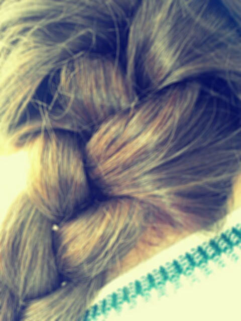 This is my hair<3 #blonde #girl #hair #braiding