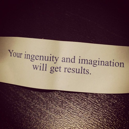 Your ingenuity and imagination will get results (Taken with Instagram at Zemoga)